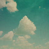 Cloudy sky grunge texture background. Cloudy and blue sky grunge texture background Royalty Free Stock Photography