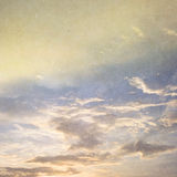 Cloudy sky grunge texture background Stock Photo