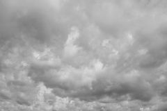 Cloudy sky, heaven. Royalty Free Stock Photo
