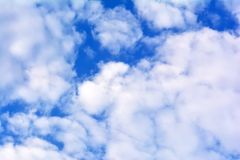 Cloudy sky, high resolution Stock Photography