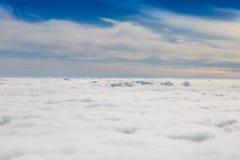 Cloudy sky with horizon Stock Photo