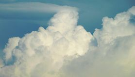 Cloudy sky. Image of a cloudy sky Stock Photo