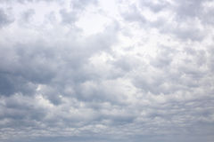 Cloudy sky in the Netherlands Royalty Free Stock Image
