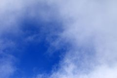 Cloudy sky at nice day Stock Image