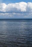 Cloudy sky over Baltic sea. Royalty Free Stock Photos