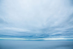 Cloudy Sky Over Ocean Royalty Free Stock Image