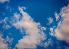 Cloudy sky 2 Royalty Free Stock Photo