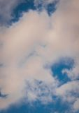 Cloudy sky 1. Royalty Free Stock Photography