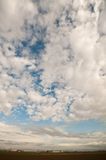 Cloudy sky in the Po plain bologna Royalty Free Stock Photography