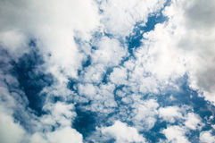 Cloudy sky. After a rain stock photos