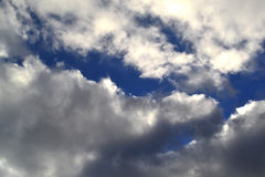 Cloudy sky Royalty Free Stock Image