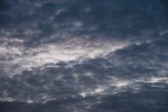 Cloudy sky before rain Stock Photography