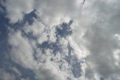 Cloudy sky in rainy season Royalty Free Stock Photos