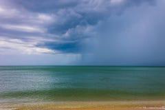 Cloudy sky on sea Stock Photo