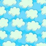 Cloudy sky. Stock Photo
