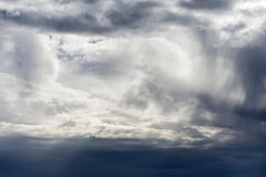 Cloudy Sky Stormy Background Royalty Free Stock Images