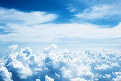 Cloudy sky and sunset Royalty Free Stock Image