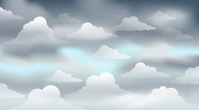 Cloudy sky theme image 3 Stock Photo