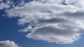 Cloudy sky time lapse stock footage