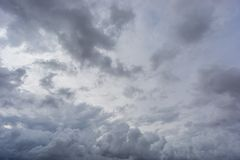 Cloudy sky Stock Image