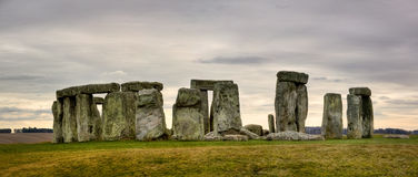 Cloudy Stonehenge Royalty Free Stock Photos