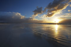 Cloudy sunrise Royalty Free Stock Photo