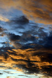 Cloudy Sunset Royalty Free Stock Images