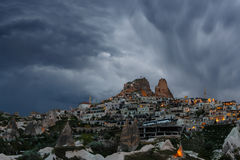 Cloudy twilight Royalty Free Stock Photos
