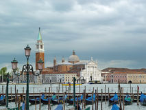 Cloudy Venice lagoon Stock Images