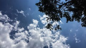 Cloudy weather royalty free stock image