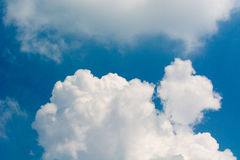 Clound. Beautiful clouds in the sky day Stock Photo
