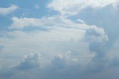 Clound Blue sky. Clound with Blue sky in January Stock Photo