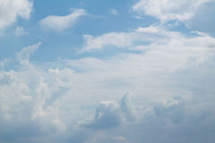 Clound Blue sky. Clound with Blue sky in January Royalty Free Stock Photography