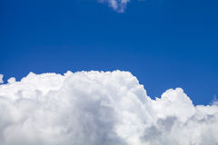 Clound with blue sky. Shot in nice day Stock Photography