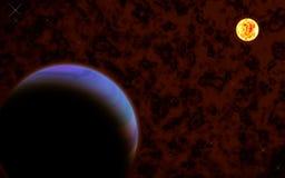 Clound cosmique Image stock