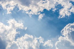 Clound light sky Royalty Free Stock Images