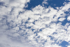 Clound in the sky. The scatter clound in the sky Royalty Free Stock Image
