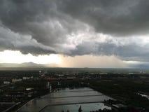 Clounds και βροχή Στοκ φωτογραφία με δικαίωμα ελεύθερης χρήσης