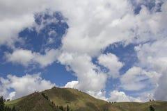 Clounds för blå himmel Royaltyfri Fotografi