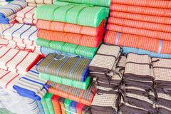 Clourful plastic matten Stock Fotografie