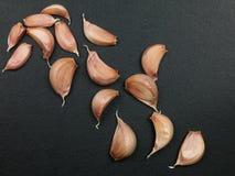 Clous de girofle d'ail à cuire aromatique frais Images stock