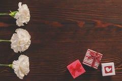 Clous de girofle sur la table Photographie stock libre de droits