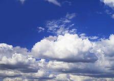 Clous nel cielo fotografia stock libera da diritti
