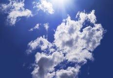 Clous nel cielo fotografie stock libere da diritti