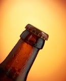 clouse бутылки пива вверх Стоковое фото RF