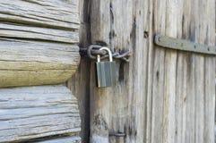 Clouse acima da fechadura da porta Imagens de Stock Royalty Free
