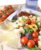 Clouse acima da salada Foto de Stock Royalty Free
