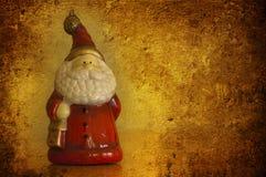 clouse grunge圣诞老人 库存照片