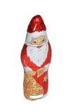 clouse Santa de chocolat image stock