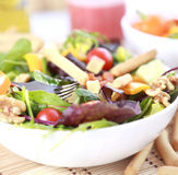 Clouse up Salad. Freshness and healthy close up salad Royalty Free Stock Photography